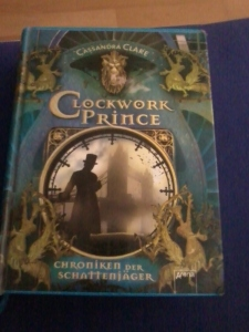 Clockwork Prince Cover