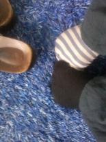 verschiedene Socken